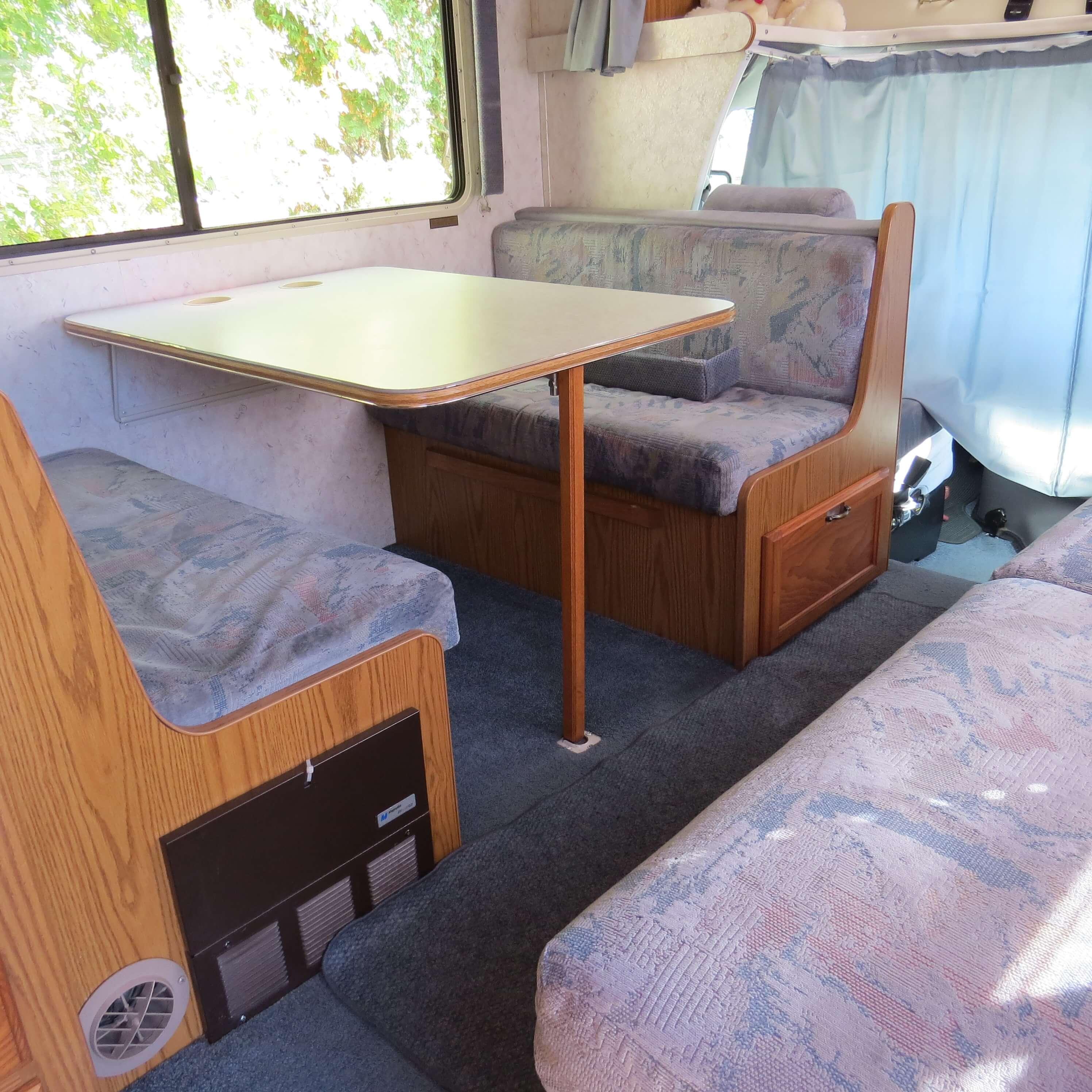 Kit salle de bain pour camping car - Table pliante pour camping car ...